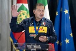 ROMA nazionali pallavolo ricevute Quirinale Mattarella2021-09-27 (6)