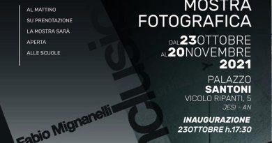 """Da sabato a Palazzo Santoni la mostra """"Inclusioni"""" del fotografo Fabio Mignanelli"""