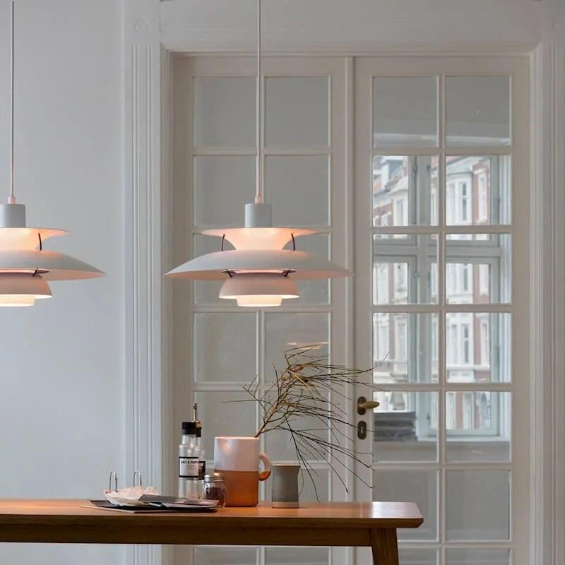 PH 5 Classic  Sospensione Louis Poulsen designer Poul Henningsen  La Luce