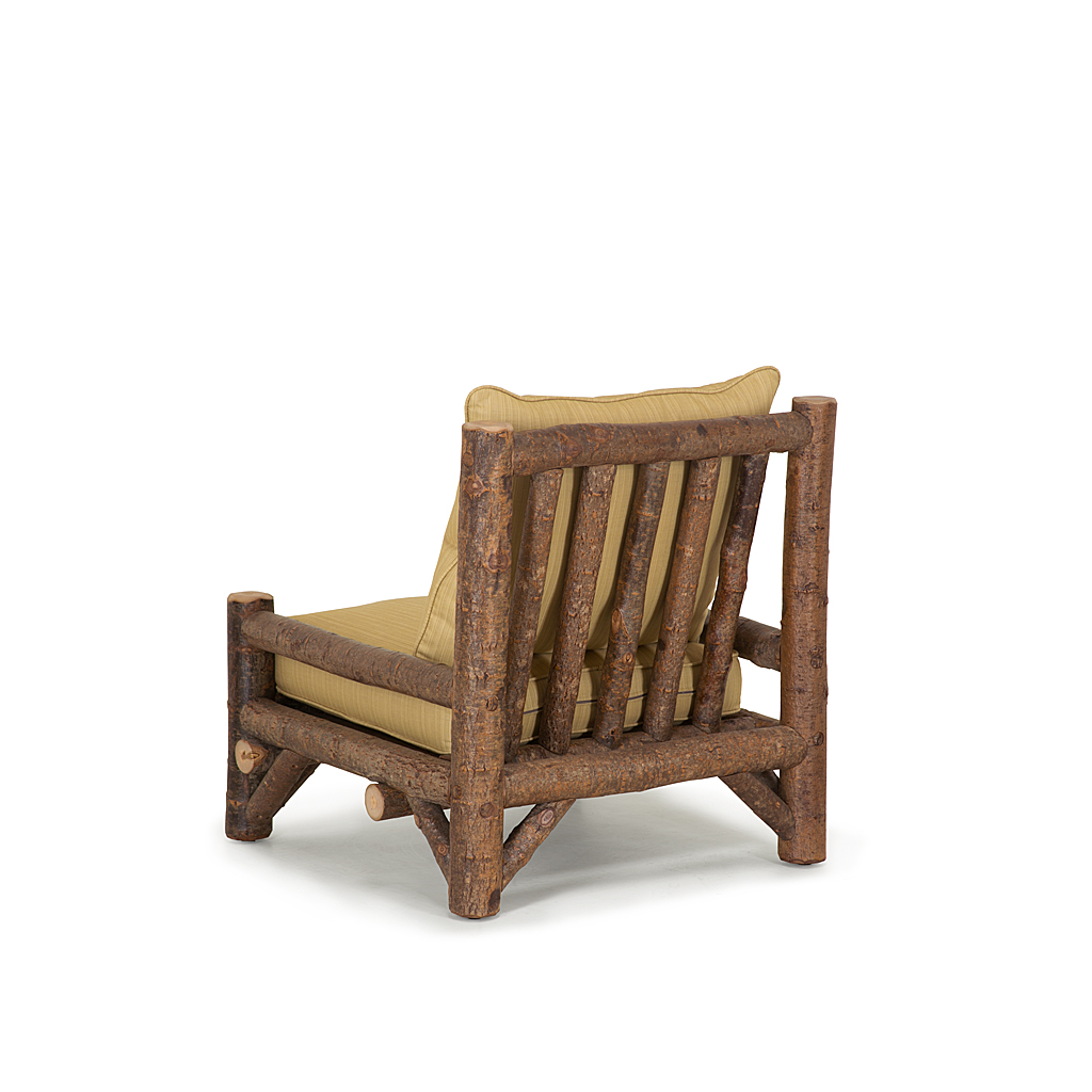 Rustic Armless Lounge Chair  La Lune Collection