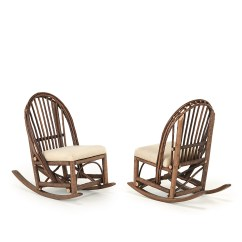 Rustic Rocking Chair Arm Caddy La Lune Collection