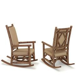Rustic Rocking Chair Vitra Ergonomic La Lune Collection