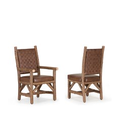 Rustic Leather Chair Hay About A Dining Side And Arm La Lune Collection