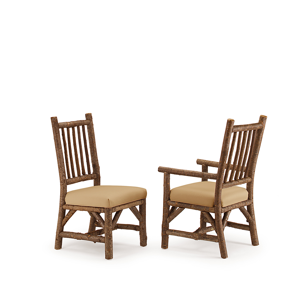 rustic dining chair ivory covers with gold sash side and arm la lune collection