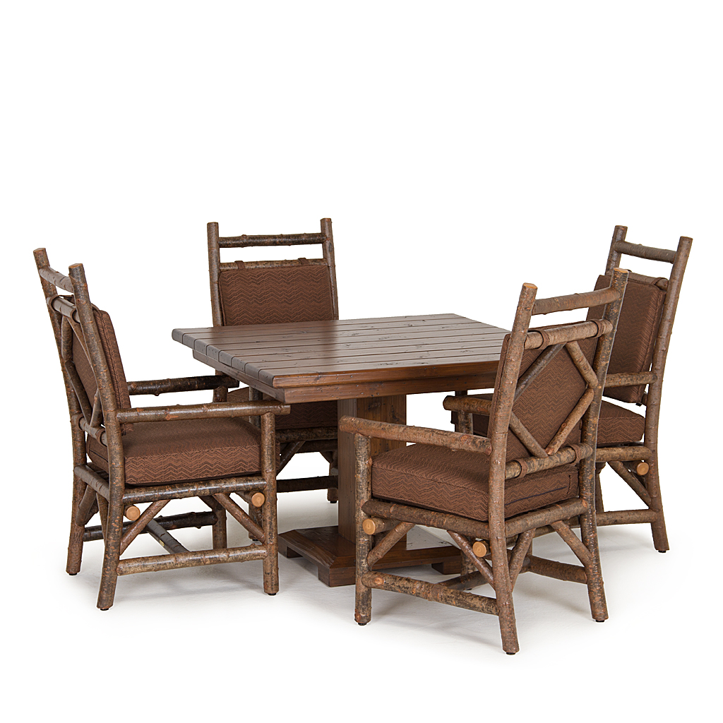 chair with arm table kidkraft farmhouse and set natural rustic dining side la lune collection