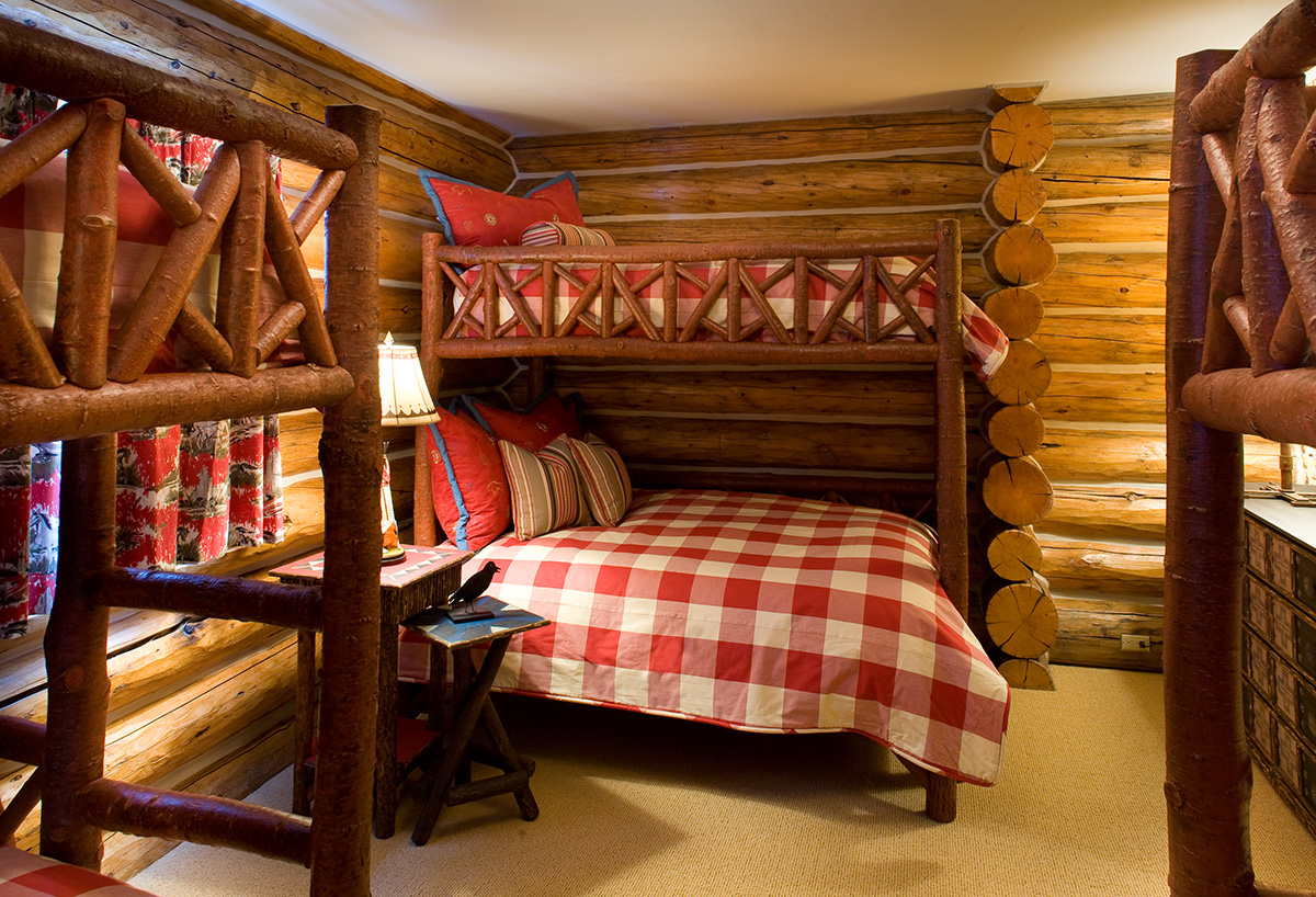 Rustic Log Beds  La Lune Collection  La Lune Collection Blog