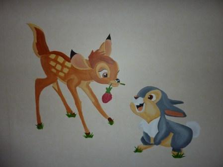 Mural Bambi