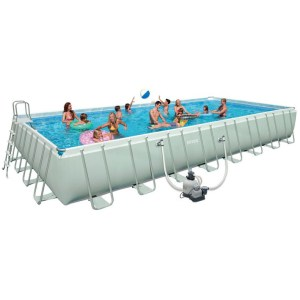 Piscina Ultra Frame Intex 28372/26372 - cm 975x488x132 massimo comfort e divertimento possibile