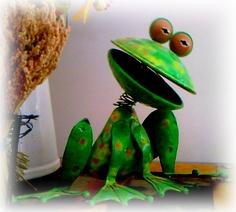 grenouille rigolote