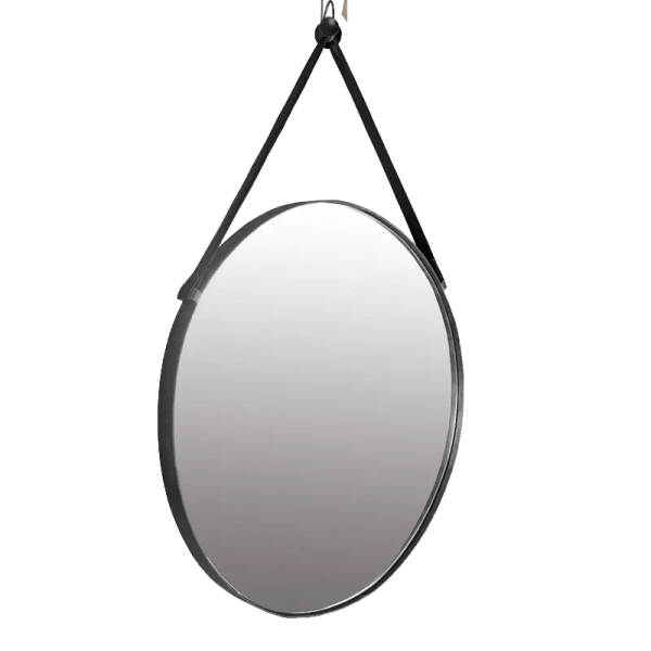 Oscar Round Hanging Mirror