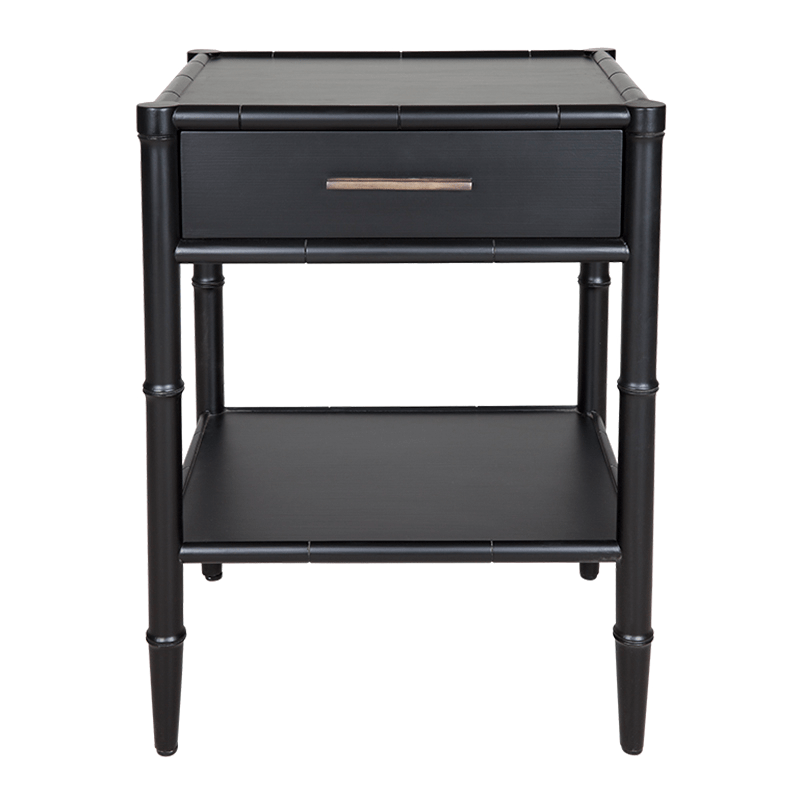 ST LUCIA Side Table Black