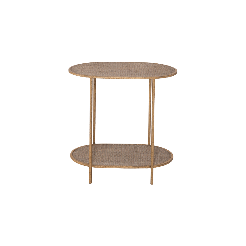 Mayfair Golden Side Table Front