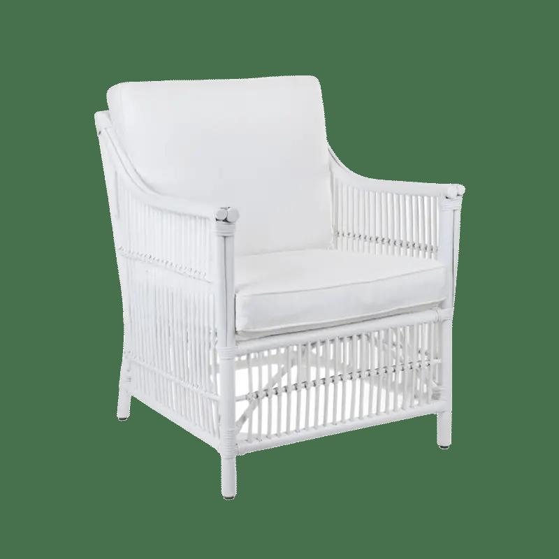 Orient Bay White Cane Armchair