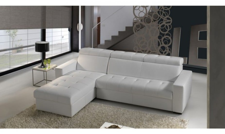 canape d angle convertible cuir