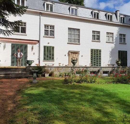 Vidage chateau Rhode Saint Genese