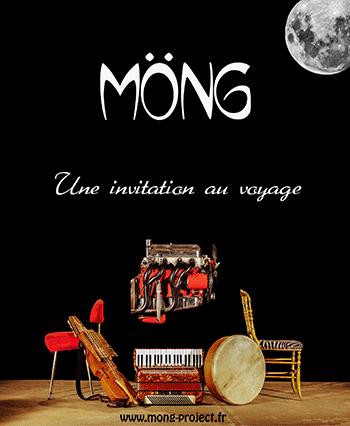 Affiche Mong en concert - 2015-03-07