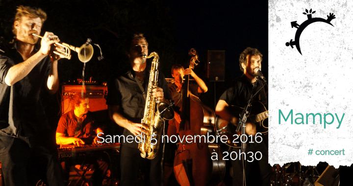 Concert - Mampy - Samedi 5 novembre 2016