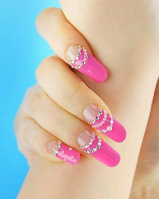Deco Ongle Rose Gallery Of Dco Ongle Facile Tape Par Tape