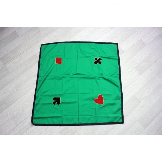 destockage tapis de jeux de cartes 90x90 cm