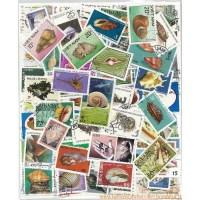 Briefmarken für Sammler Gestempelte Briefmarkenensammlung ...