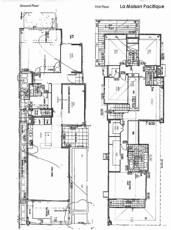 La Maison Pacifique Floor Plan