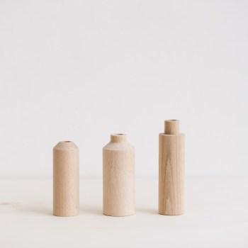 Soliflores en bois Anso Design