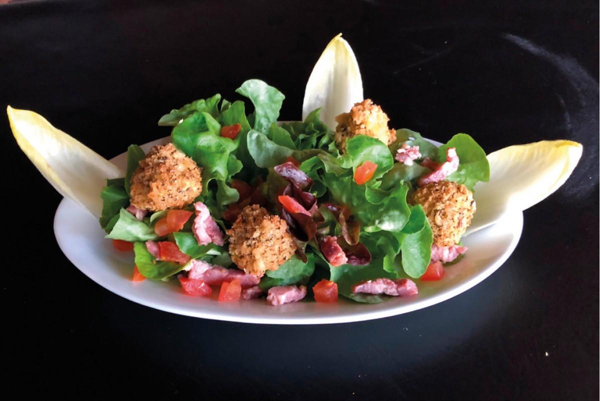 Salade La caprine de La Mangoune