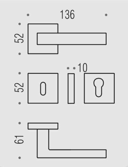 Colombo Design Maniglia Ellesse