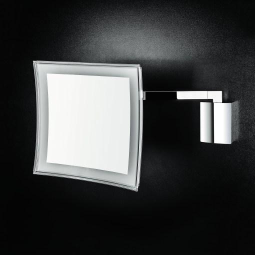 Colombo Design Arredo Bagno Specchio INGRANDITORE ANNA dimmerabile a LED (3,5x) cromo B9760