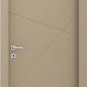 gun ADEA PORTE INTERNE Collezione Corea Quatre  Legno Laccato Bianco cerniere 3D serratura magnetica