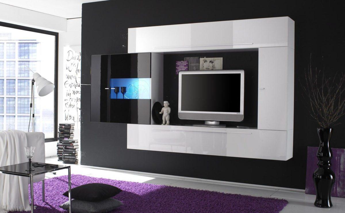 Muebles modernos de televisin  La mansin de las ideas