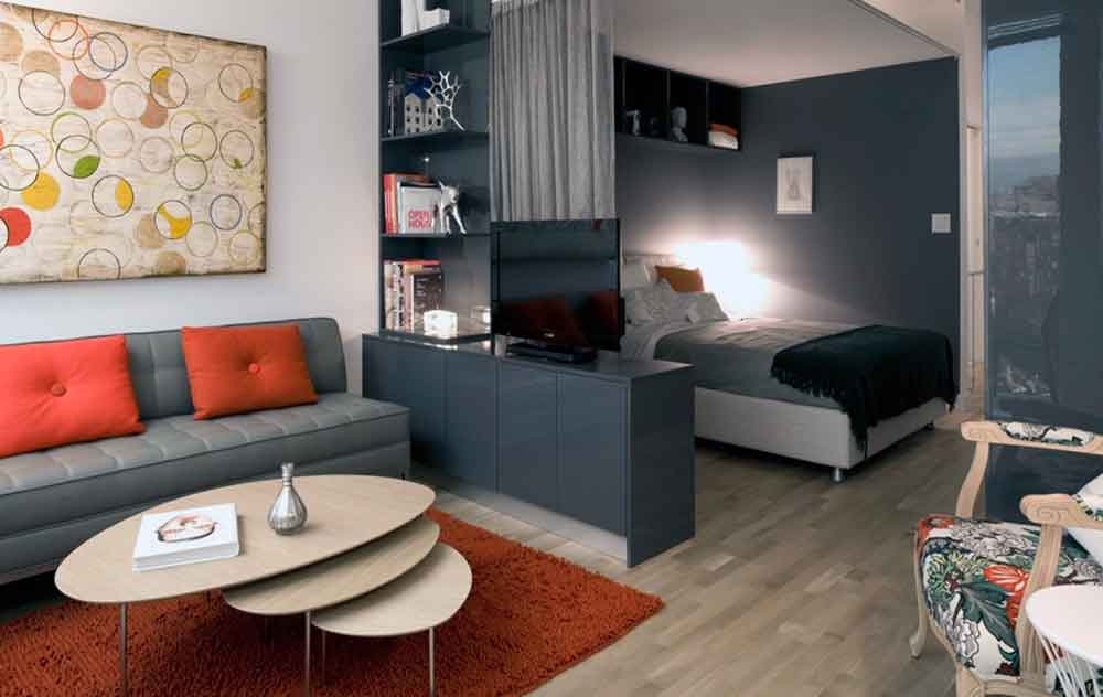 Apartamento Tipo Estudio En Alquiler