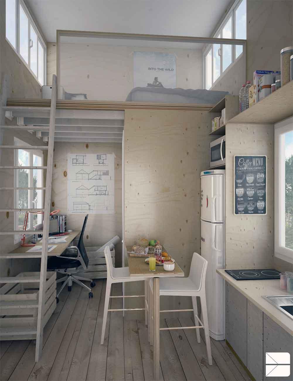 Cmo decorar apartamentos tipo estudio  La mansin de las