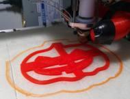 Stampa 3D, colore rosso