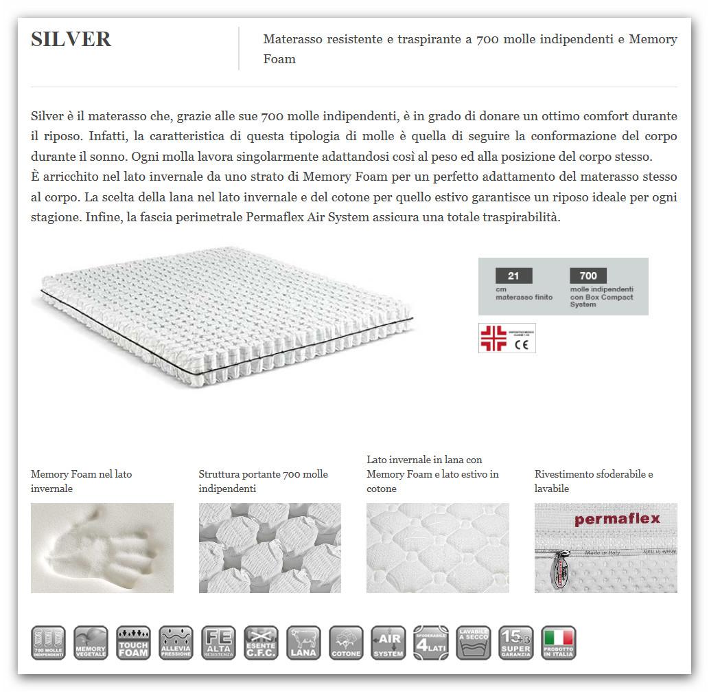 Materassi In Lattice Permaflex Prezzi.Offerte Materassi Permaflex Idee Di Decorazione Per Interni