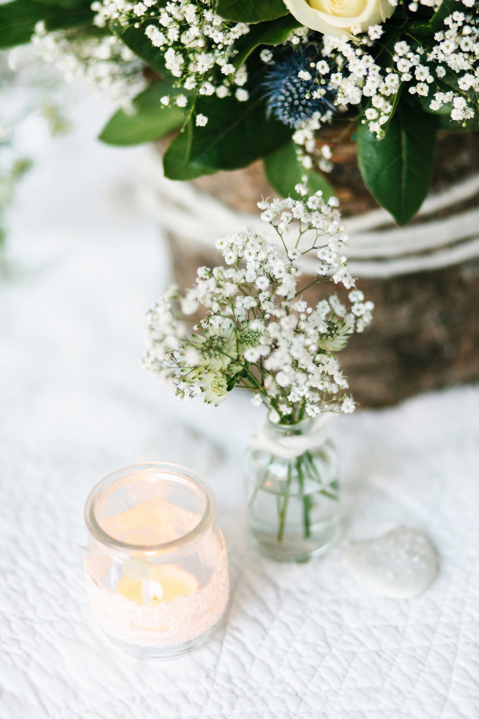 Petites Fleurs Blanches Mariage