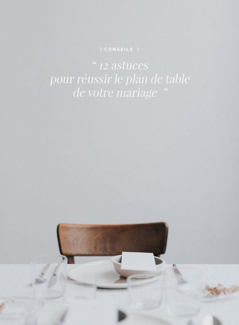 de table de votre mariage