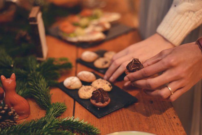 Repas du brunch mariage hivernal by mood cupcake factory