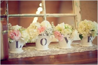 Inspirations mariage shabby chic   © Haley Sheffield Photography