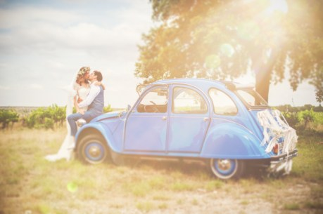 Inspirations mariage champêtre | © Yoann Pallier