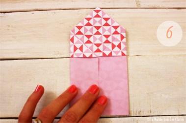 DIY {Do It Yourself} Marque-places cœur en origami| Etape 2 : L'art du pliage 6 par La Mariée Sous Les Etoiles