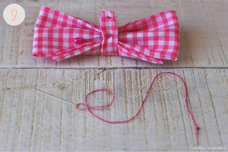 {DIY} • Comment fabriquer un nœud papillon | 9. Dernière couture