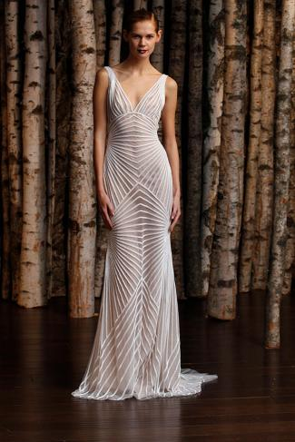 Robe de mariée Naeem Khan, modèle Hollywood, Boutique Plume Paris