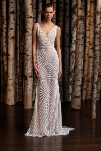 Robe de mariée Naeem Khan, modèle Hollywood, Boutique Plume Paris