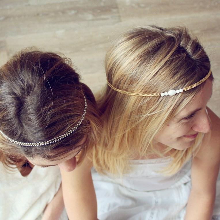 Headbands bijoux de tête mariage Pemberley