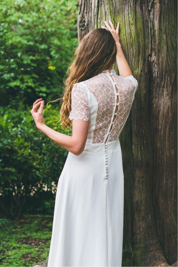 L'Amoureuse (de dos), Adeline Bauwin   Robes de mariée Collection 2016,