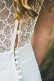 L'Amoureuse (détail), Adeline Bauwin | Robes de mariée Collection 2016,