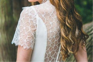 L'Amoureuse (dos), Adeline Bauwin | Robes de mariée Collection 2016,