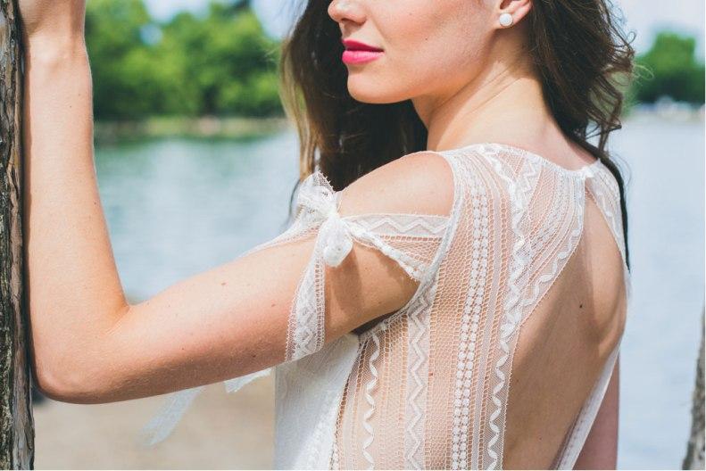 La Séduisante (détail), Adeline Bauwin   Robes de mariée Collection 2016