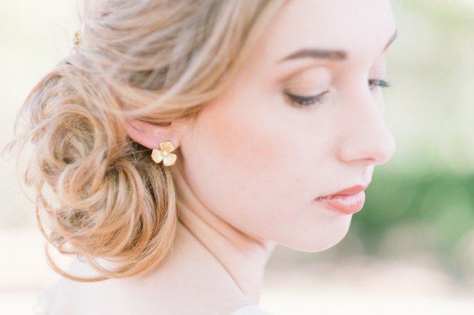 Boucles d'oreilles Alba doré - L'Atelier de Sylvie